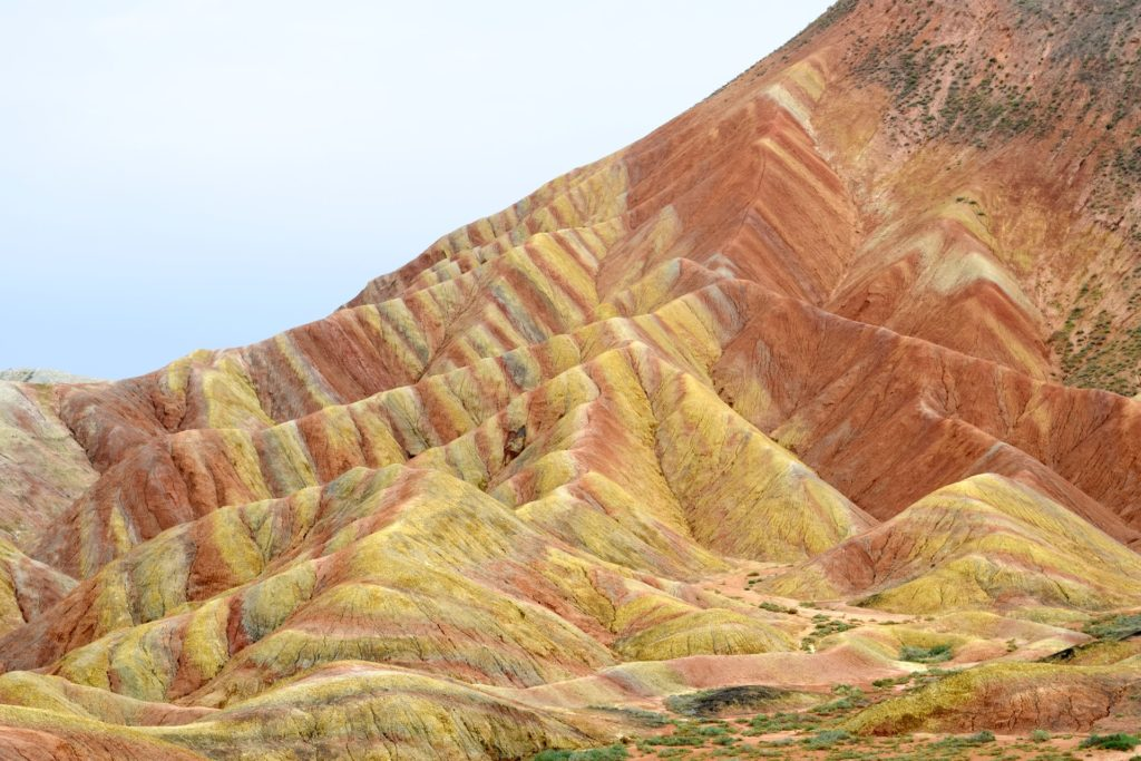 Unvisited Rainbow Mountains in China