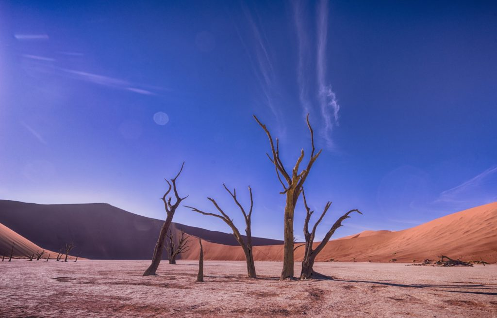 Namibian desert for off-the-beaten path hiking