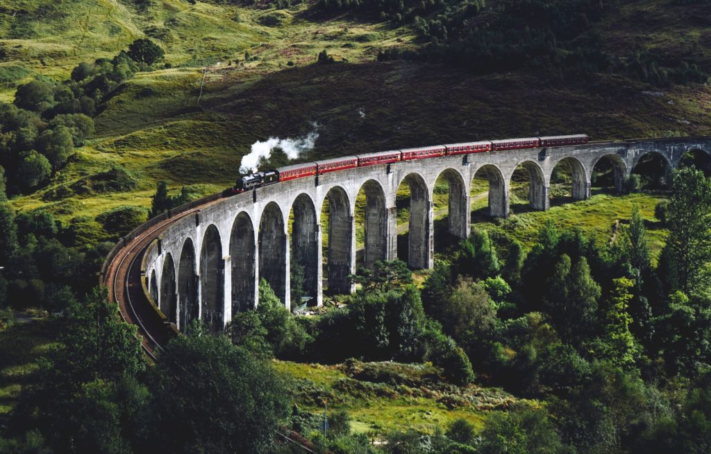 real-life location from the fantasy movie Harry Potter
