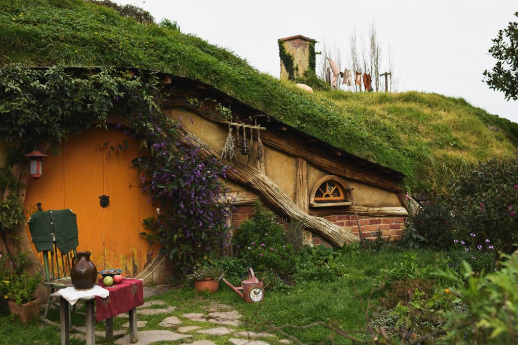 The Shire the fantasy movie The Lord of the Rings