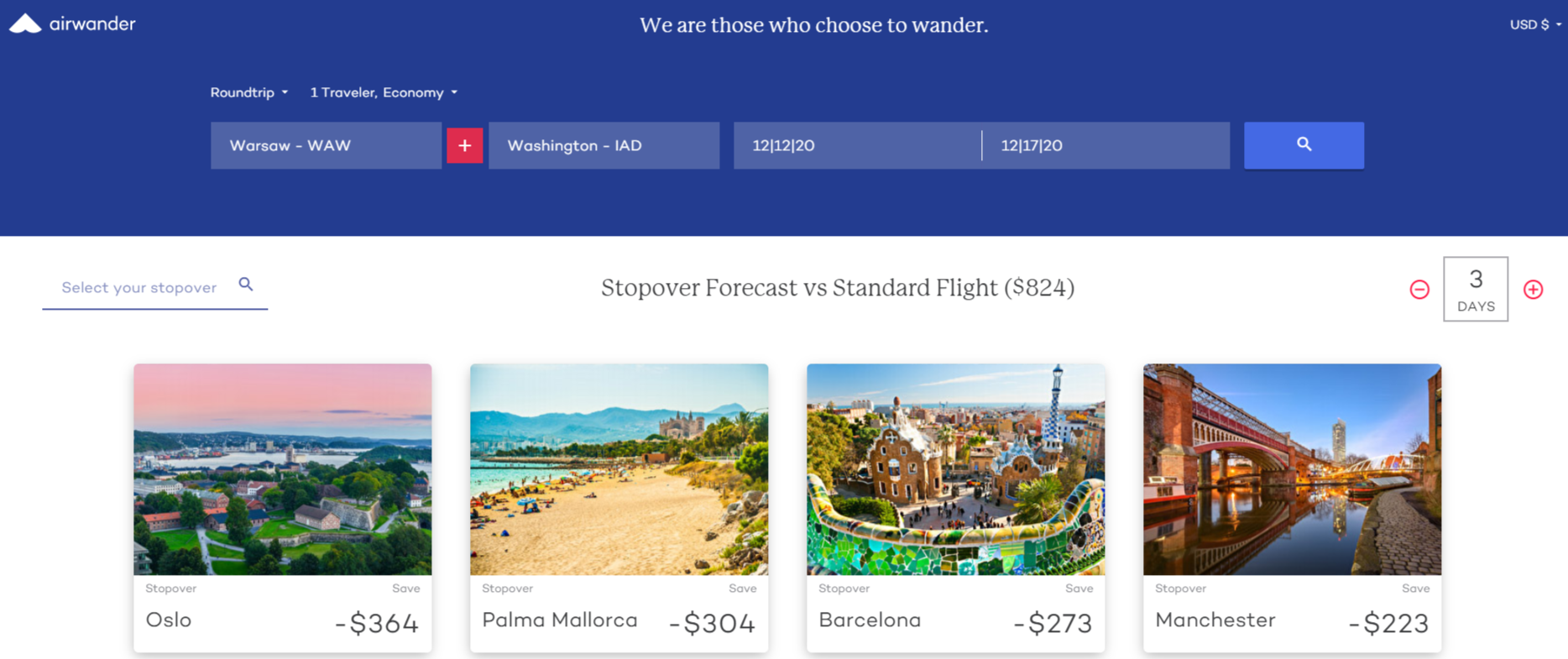 The ultimate stopover flight search