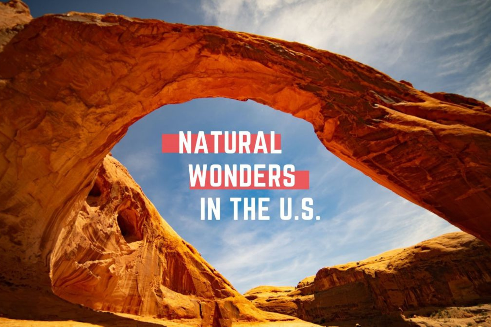 Natural wonders in the United States
