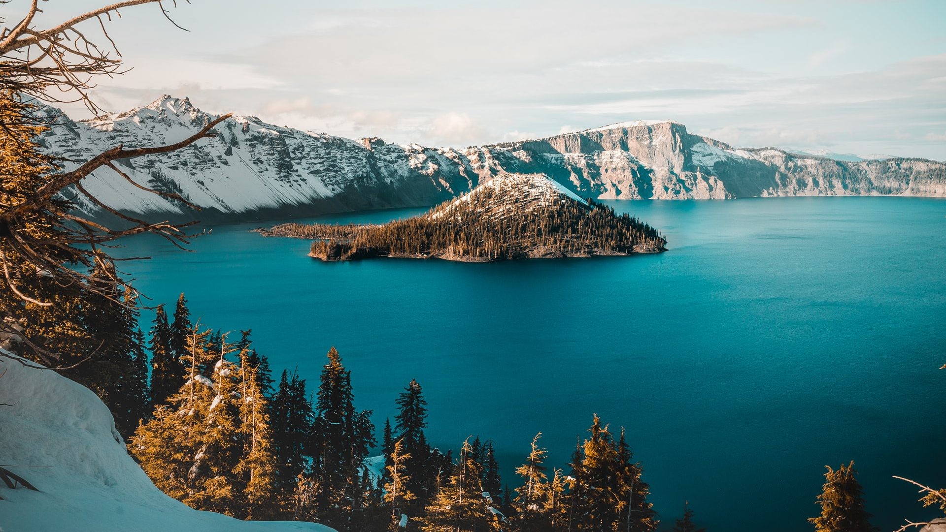 Crater Lake in Oregon must be on your list of must-see destinations in the U.S.