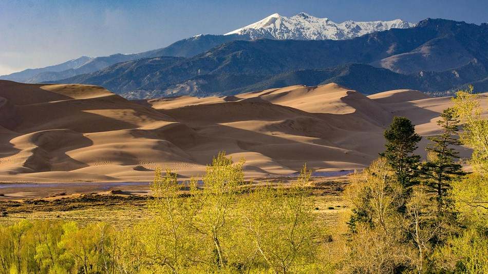 Sand Dunes are one of the natural wonders in the United States