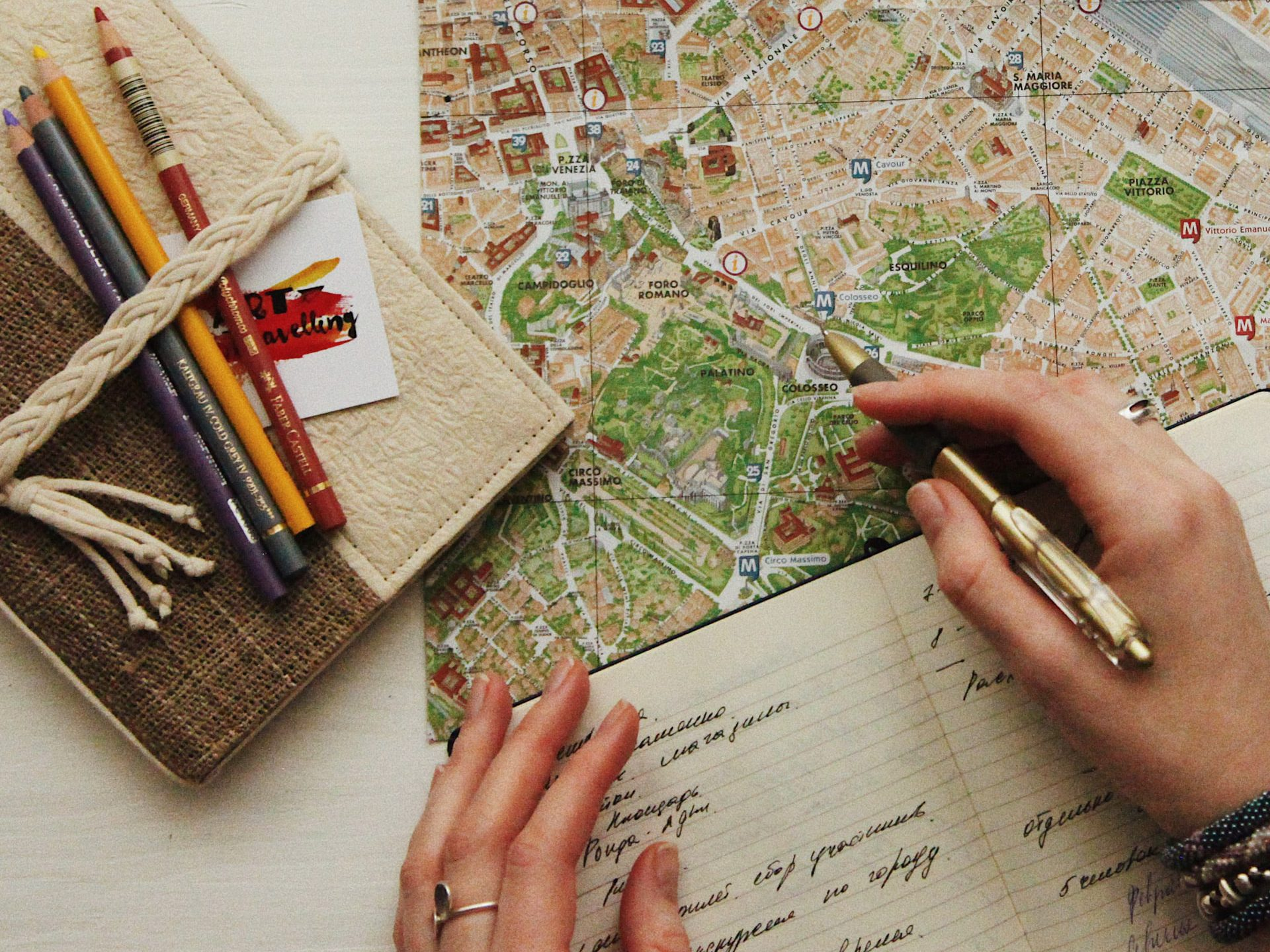 Mobile apps as enablers of trip organization