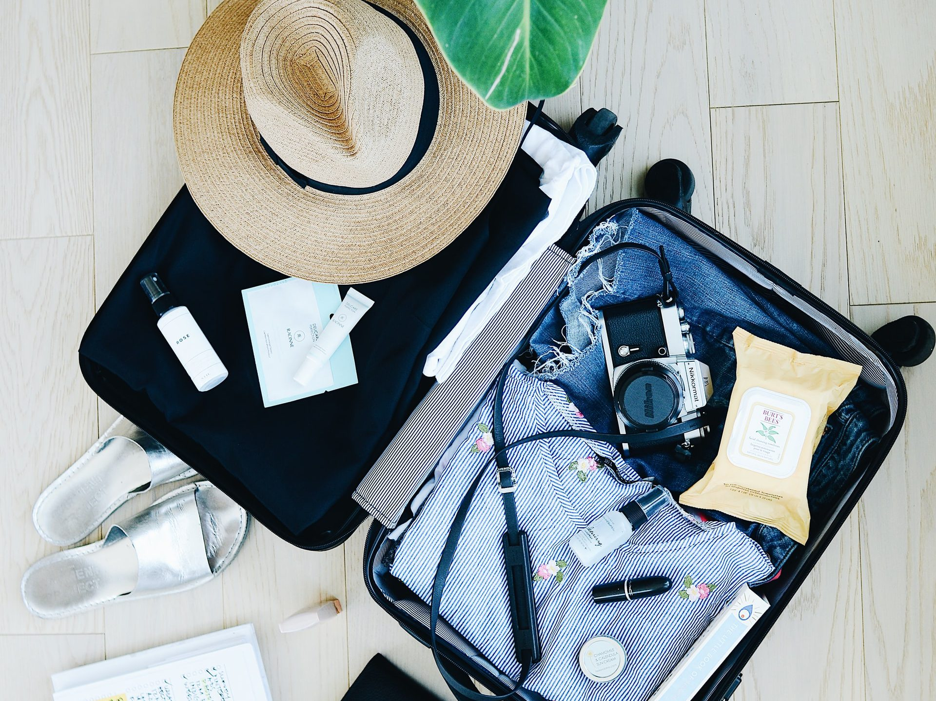 Mobile apps can be useful for packing