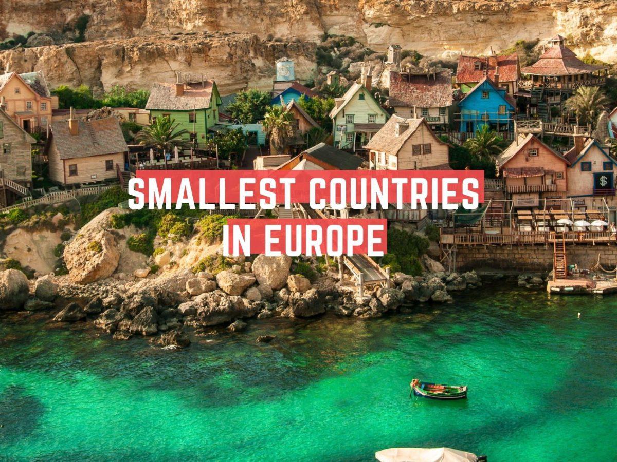Smallest European Countries