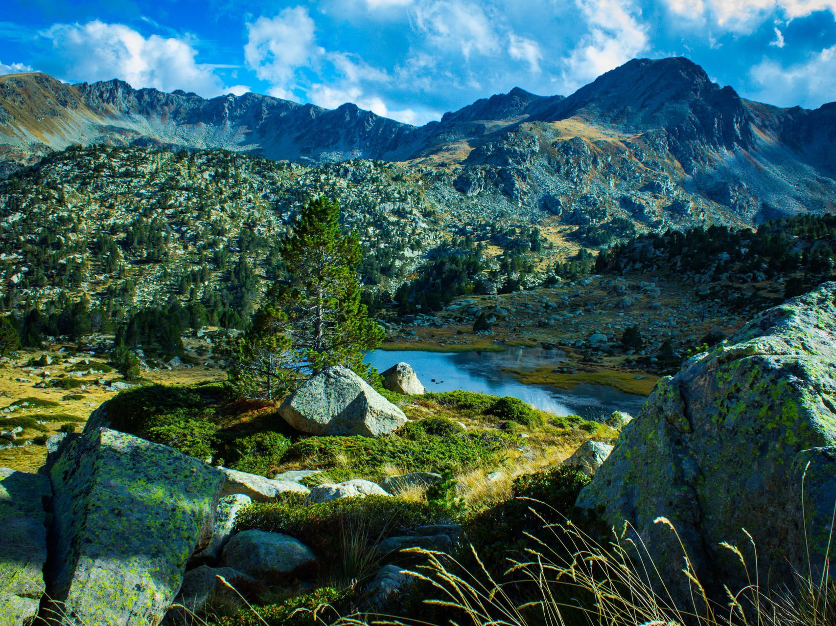 Natural beauty of Andorra - one of the smallest European countries
