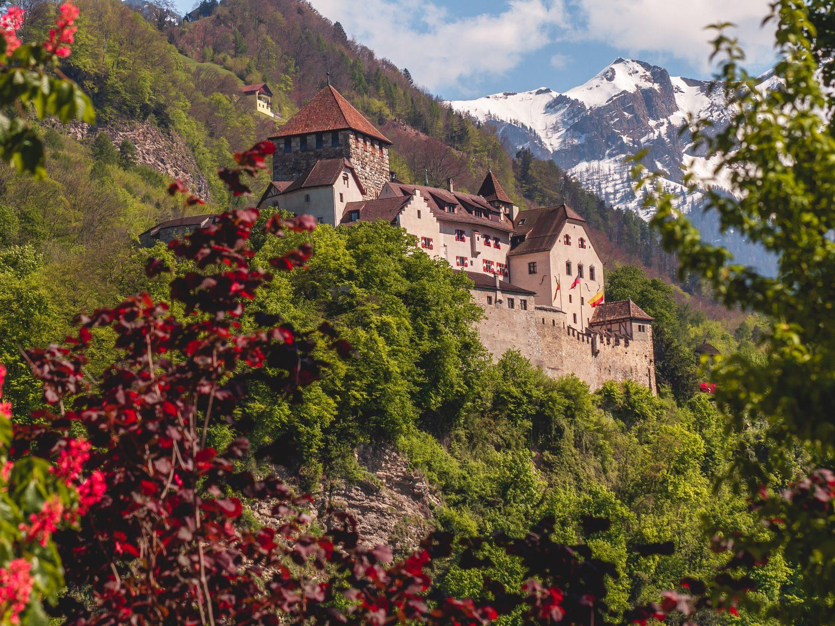 Mountainous Liechtenstein